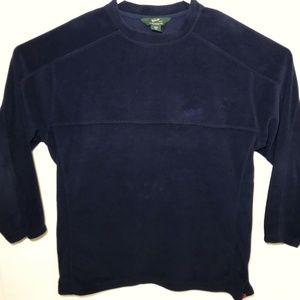 Woolrich Crew Neck Fleece Sweatshirt #8847 Navy